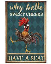 Why hello Sweet Cheeks 11x17 Poster front