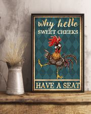 Why hello Sweet Cheeks 11x17 Poster lifestyle-poster-3