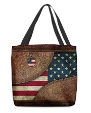Patriotic All-over Tote back