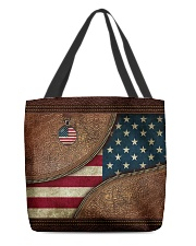 Patriotic All-over Tote front