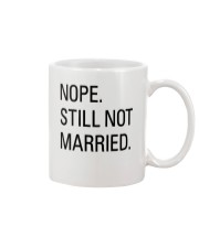 nope still not married - i'm still alone Mug thumbnail