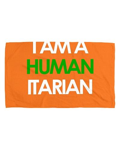 I Am A Humanitarian Green