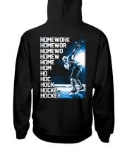 HOCKEY HOMEWORK Hooded Sweatshirt thumbnail
