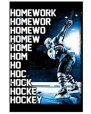 HOCKEY HOMEWORK 11x17 Poster thumbnail