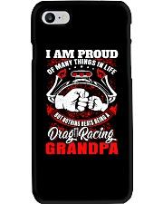 PROUD DRAG RACING GRANDPA Phone Case thumbnail
