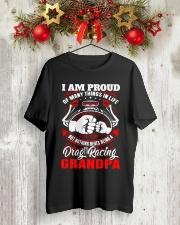 PROUD DRAG RACING GRANDPA Classic T-Shirt lifestyle-holiday-crewneck-front-2