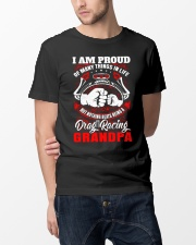 PROUD DRAG RACING GRANDPA Classic T-Shirt lifestyle-mens-crewneck-front-14