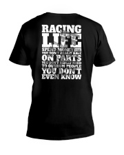 DRAG RACING LIFE V-Neck T-Shirt thumbnail