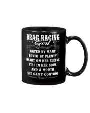 Drag Racing Girl Mug thumbnail