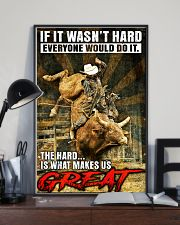 Bull Riding - MAKE US GREAT 11x17 Poster lifestyle-poster-2