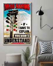 Drag racing Poster 11x17 Poster lifestyle-poster-1