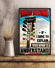 Drag racing Poster 11x17 Poster lifestyle-poster-3