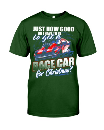 RACE CAR FOR CHRISTMAS