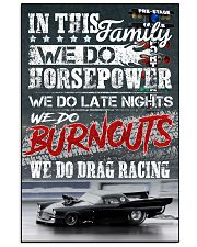 We Do Drag racing Poster 11x17 Poster front