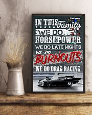 We Do Drag racing Poster 11x17 Poster lifestyle-poster-3