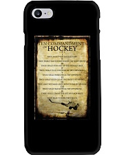 HOCKEY TEN COMMANDMENTS Phone Case thumbnail