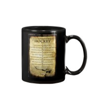 HOCKEY TEN COMMANDMENTS Mug thumbnail