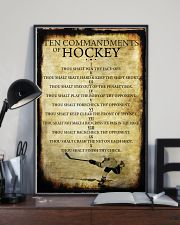 HOCKEY TEN COMMANDMENTS 11x17 Poster lifestyle-poster-2