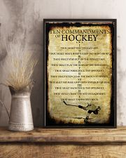 HOCKEY TEN COMMANDMENTS 11x17 Poster lifestyle-poster-3