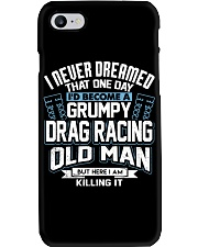 GRUMPY DRAG RACING OLD MAN Phone Case thumbnail