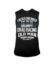 GRUMPY DRAG RACING OLD MAN Sleeveless Tee thumbnail