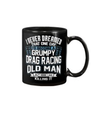 GRUMPY DRAG RACING OLD MAN Mug thumbnail
