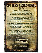 Dirt Track Racer's Prayer Poster 11x17 Poster front