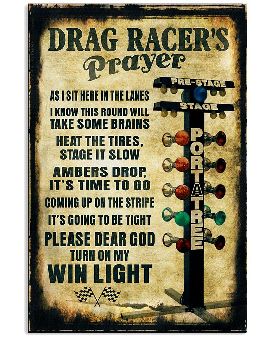 Drag racer's Prayer Poster 11x17 Poster