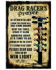 Drag racer's Prayer Poster 11x17 Poster front