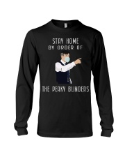 Stayhome by order of the peaky blinders Long Sleeve Tee tile