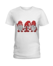 Christmas Santa  Ladies T-Shirt thumbnail