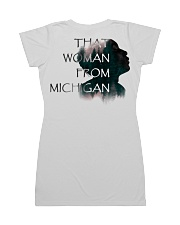 that woman from michigan shirt All-over Dress back
