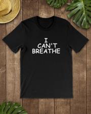 i cant breathe black lives matter can't breathe  Classic T-Shirt lifestyle-mens-crewneck-front-18