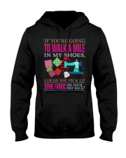QUILTING - PAST BUYERS EXCLUSIVE Hooded Sweatshirt thumbnail