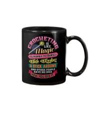 CROCHETING  Mug front