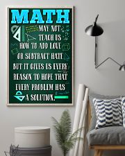 MATH TEACHER - PREMIUM 11x17 Poster lifestyle-poster-1