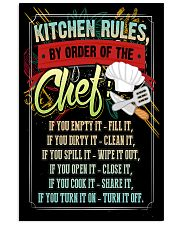 KITCHEN RULES - PREMIUM 11x17 Poster front