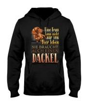 Dackelbesitzer Hooded Sweatshirt thumbnail