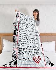 """WELDER'S Mom Premium Large Fleece Blanket - 60"""" x 80"""" aos-coral-fleece-blanket-60x80-lifestyle-front-11"""