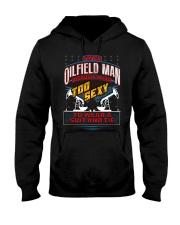 OILFIELD MAN Hooded Sweatshirt front