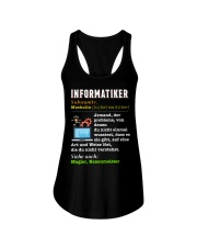 INFORMATIKER Ladies Flowy Tank thumbnail