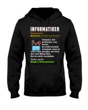 INFORMATIKER Hooded Sweatshirt thumbnail