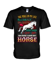 HORSE GIRL - PAST BUYERS EXCLUSIVE V-Neck T-Shirt thumbnail