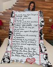 "WELDER'S Mom Premium Large Fleece Blanket - 60"" x 80"" aos-coral-fleece-blanket-60x80-lifestyle-front-04"