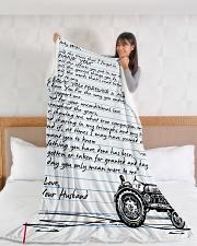 "Farmer's Wife  Premium Large Fleece Blanket - 60"" x 80"" aos-coral-fleece-blanket-60x80-lifestyle-front-11"