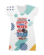 TRUCKER'S WIFE All-over Dress front