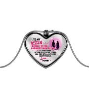 WIFE - PREMIUM Metallic Heart Necklace front