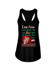 Schaferhund Ladies Flowy Tank thumbnail
