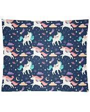 "Unicorn Love Wall Tapestry - 104"" x 88"" thumbnail"