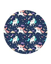 Unicorn Love Circle Coaster thumbnail